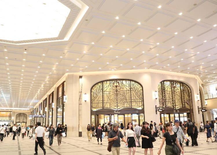 大阪梅田车站购物①高级时尚的百货公司「阪急梅田本店」