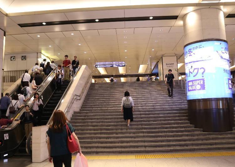 車站②阪急電鐵-大阪梅田站:前往萬博紀念公園及箕面公園最方便