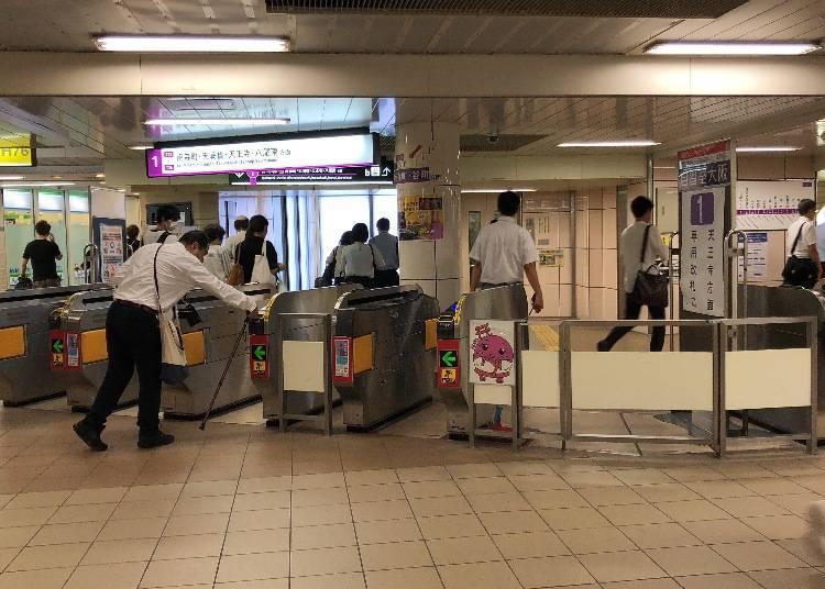 車站⑥Osaka Metro-谷町線東梅田站