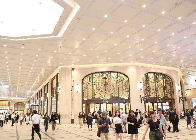 大阪梅田車站購物①高級時尚的百貨公司「阪急梅田本店」