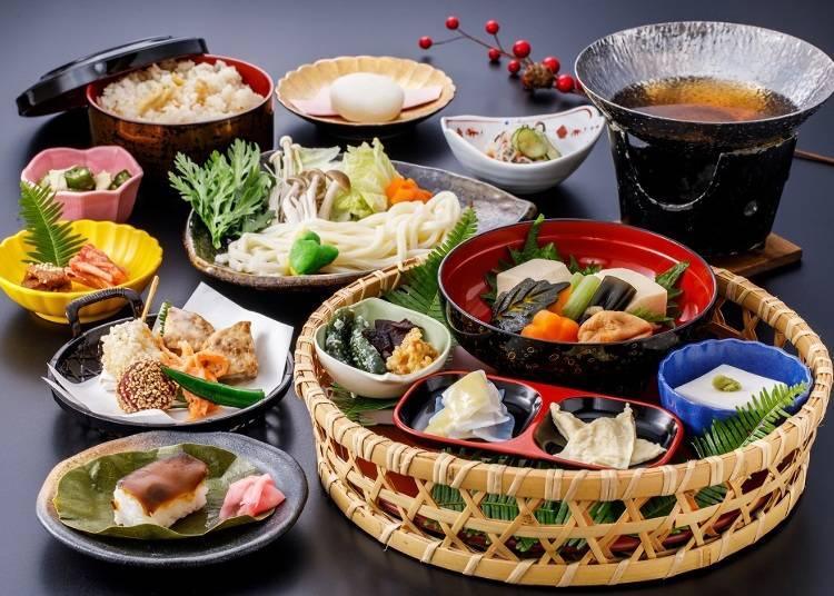3.伝統に新しいエッセンスが加わった「SHOJIN Dining桐宝珠」