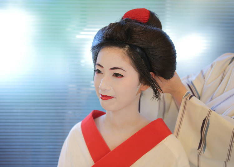 Start to Feel More Like a Maiko Makeover With the Wig!