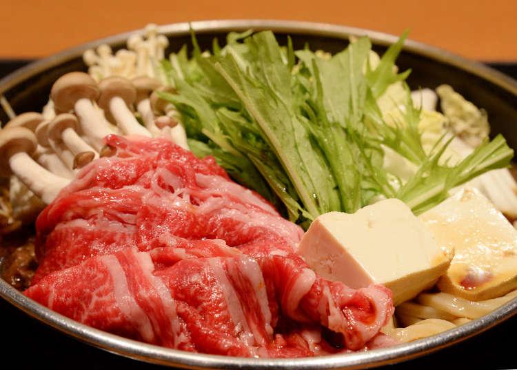 【1000日圓起跳】京都吃日本國產牛!壽喜燒午餐盡享人間美味