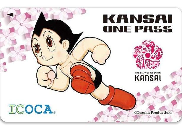 この1枚とスマホだけで関西周遊OK!訪日外国人向けICカード「KANSAI ONE PASS」