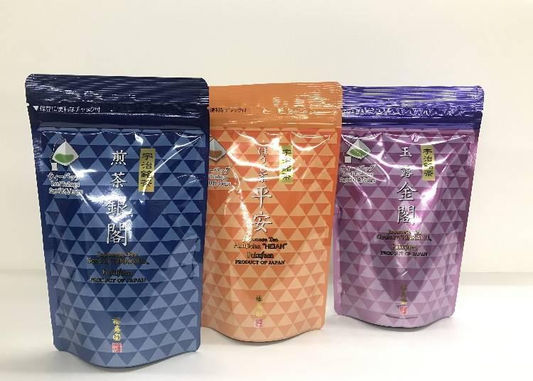 5. Kyoraku Chaya Standing Tea Pack from Fukujuen