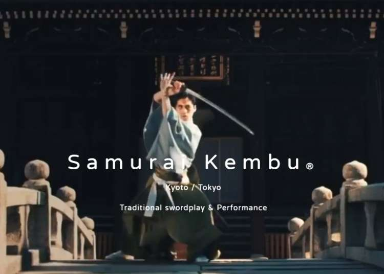 Experience Samurai Culture in Kyoto with Sword and Paper Fan Dancing at Samurai Kembu Theater