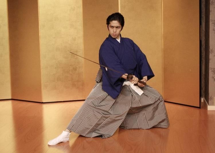 Enjoying the cool side of Samurai culture