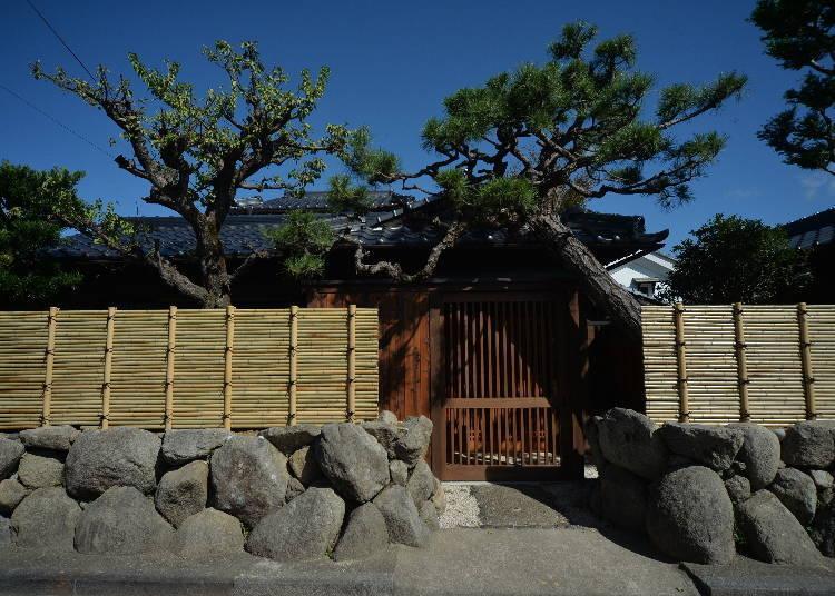 3.投宿於與戰國武將・明智光秀有淵源的城下町【Hanare Ninoumi】