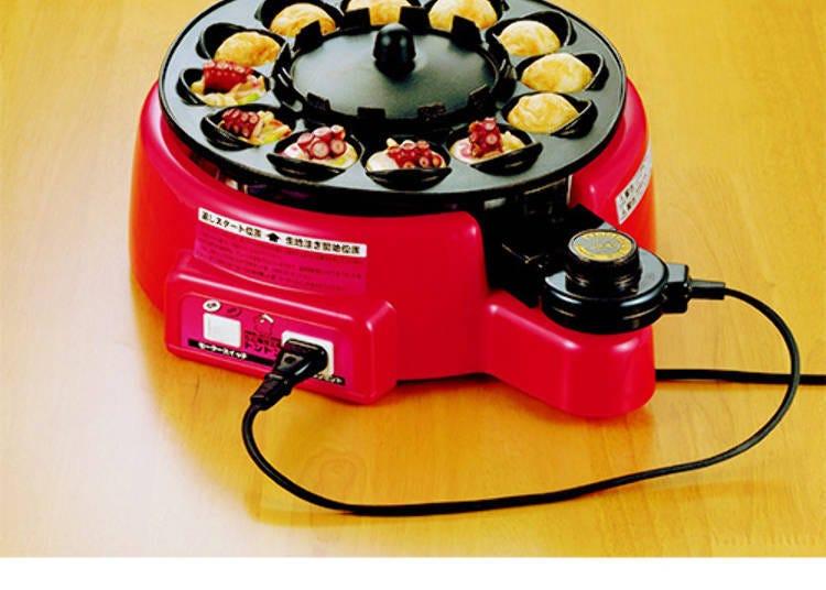 4. Auto-turning takoyaki machine