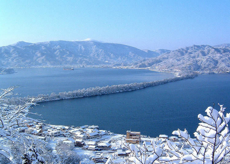 3. Amanohashidate: A mysterious structure crafted by nature itself (Kyoto)