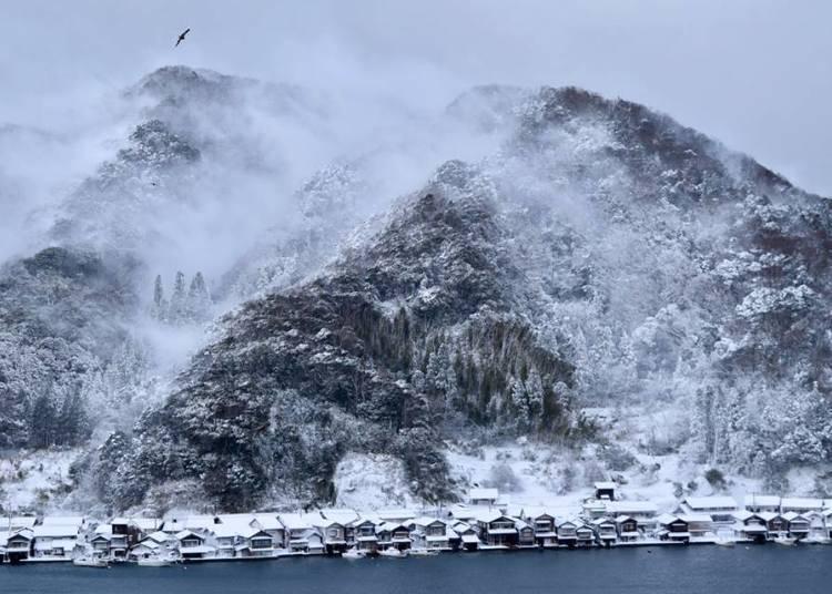 2.伊根舟屋-離海最近的漁村小鎮【京都】