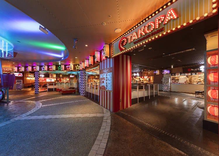 2.大阪のたこ焼き店が集結、「TAKOPA」でたこ焼き食べ比べ