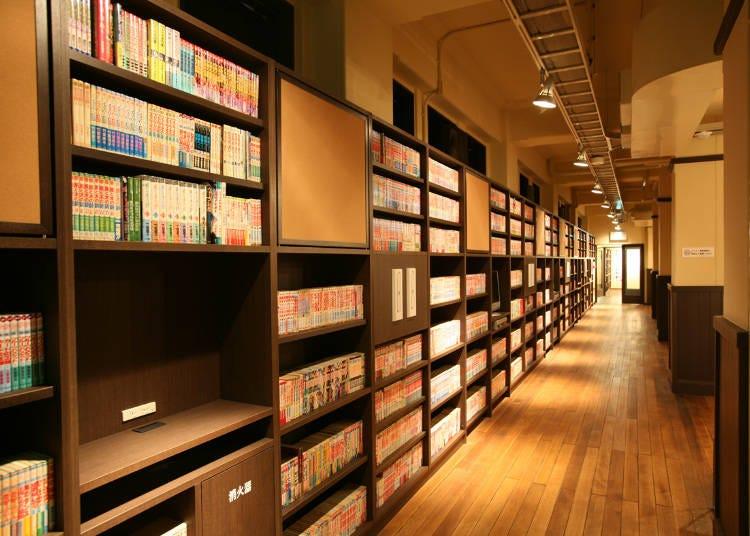 8:マンガ読み放題の京都国際マンガミュージアム