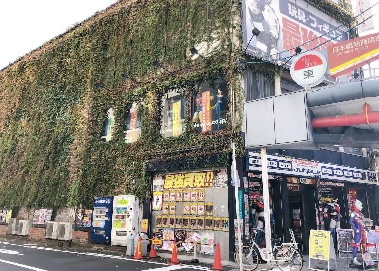 動漫、遊戲周邊篇:Jungle大阪日本橋店