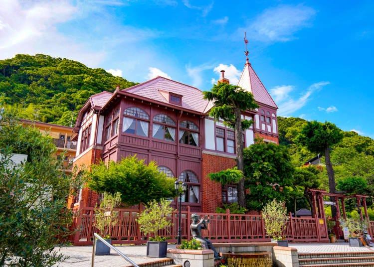 Day 1: Around stylish Kobe, surrounded by mountains and the sea. Kitano Ijinkan-gai → Kitanozaka → Ikuta Shrine → Sannomiya → Kobe Former Settlement → Nankinmachi → Kobe Harborland (Mosaic Big Ferris wheel)