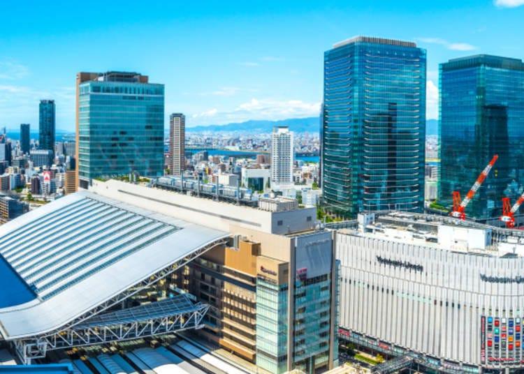 【第五天】最後在大阪補齊伴手禮的機會 大阪梅田附近→關西國際機場