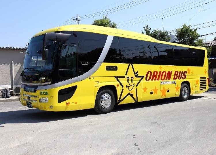 5. 早鳥、促銷優惠多多的「ORION BUS」(ORION TOUR)