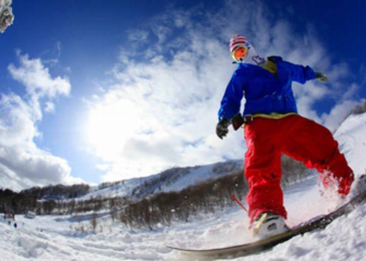 2. Hachikogen Ski Resort / Hachi Kita Kogen Ski Resort (Hyogo)