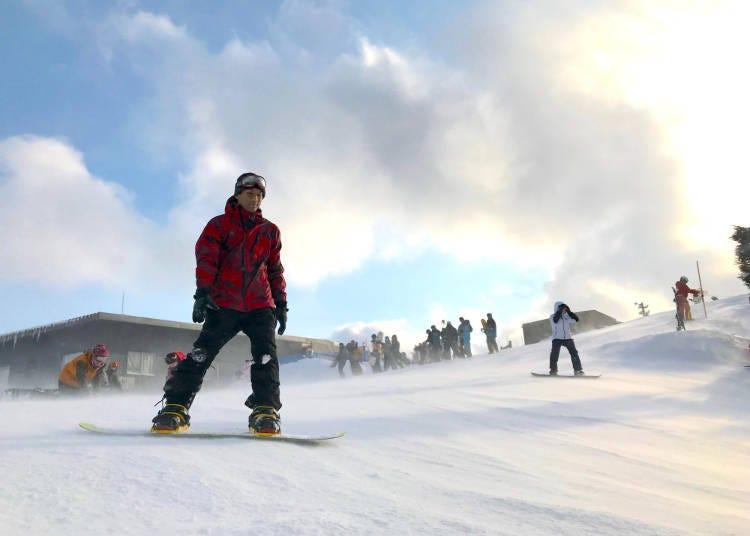 지금 세계가 주목하는 일본의 스키장