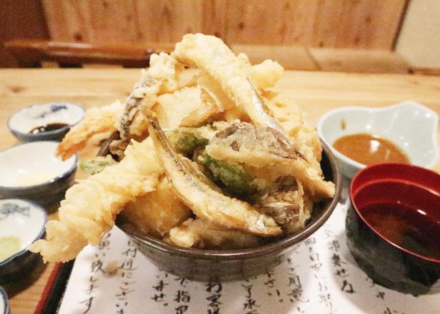 衝撃の「天ぷらのせ放題ランチ」が880円!デカ盛りをペロリと食べられるウマさ@大阪