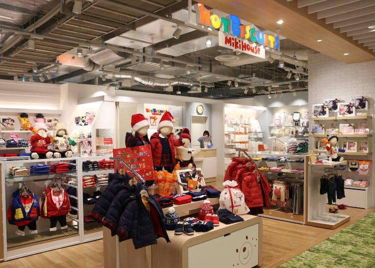 日本第一家!米奇主題嬰幼兒・童裝店「HOT BISCUITS」(5F)