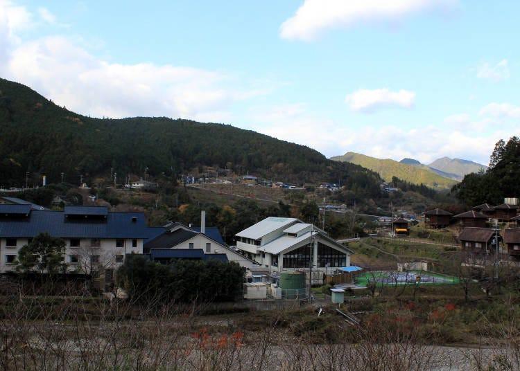 3. Wataze Onsen: A very enjoyable outdoor resort