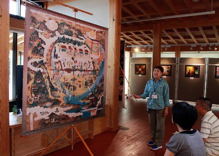 熊野本宮觀光協會常駐會說英文的工作人員
