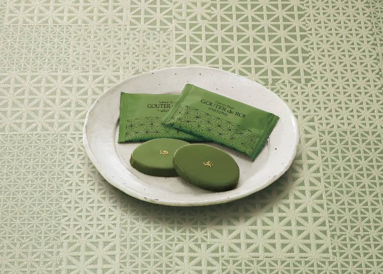 3.神戶當地限定的「GATEAU FESTA HARADA」抹茶巧克力法式烤麵包脆片