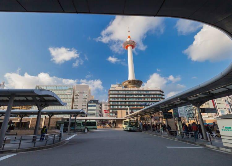 バス:京都市内の観光地を巡りやすい