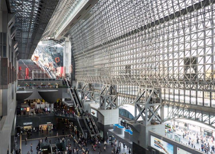 身為京都大門的京都車站