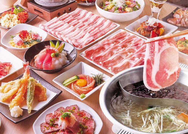 In Japan, 'Viking' is the word for 'Buffet'