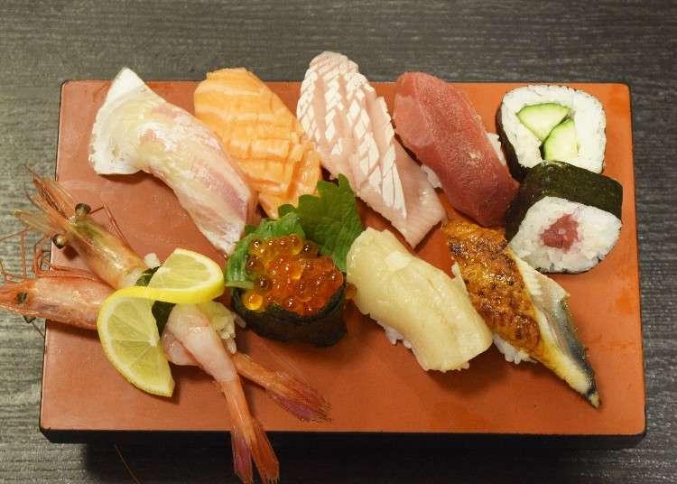 Authentic Osaka Sushi: 3 Best Restaurants With Lunches Under 1,500 Yen ($15)!