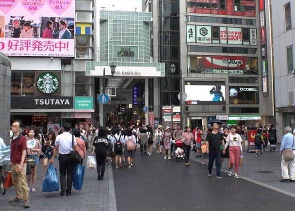 Main sightseeing spots in Shinsaibashi