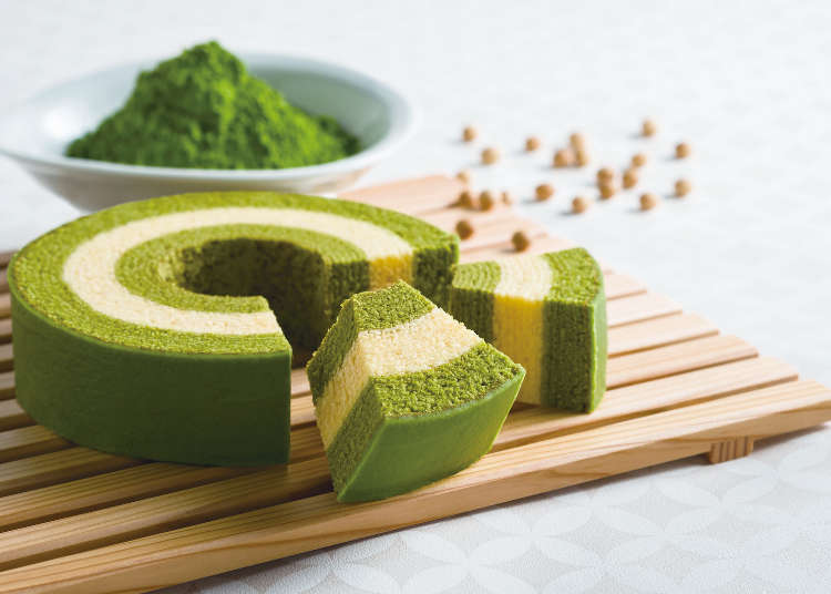 """""""Kyo Baum"""" is the latest addition to popular Kyoto souvenirs! A blessed combination of matcha and baumkuchen"""