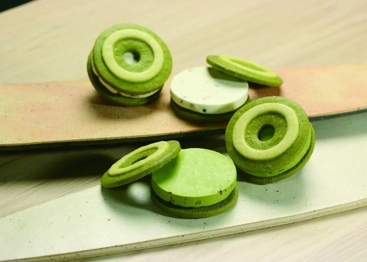 6. Kyo Baum cookie sandwich