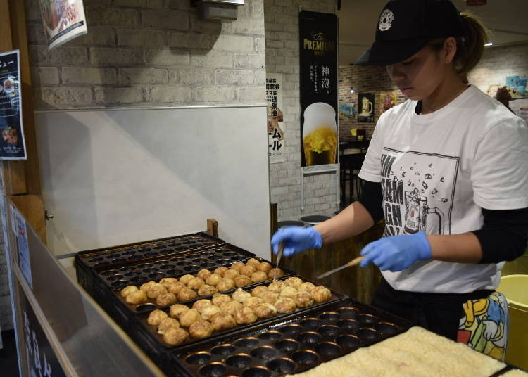 What kind of a dish is takoyaki? You'll find lots of varieties these days!