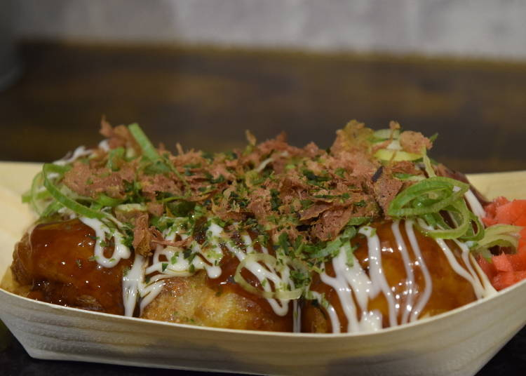 """#1: The orthodox """"takoyaki sauce"""" flavor"""
