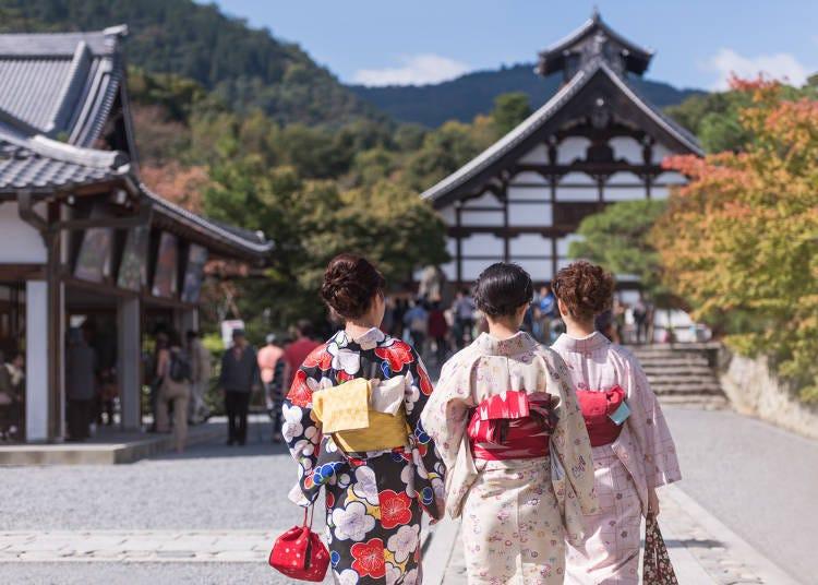 還以為京都人每天都會穿和服