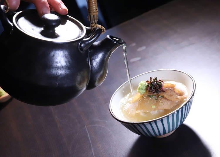 茶泡飯代表「送客」的意思?