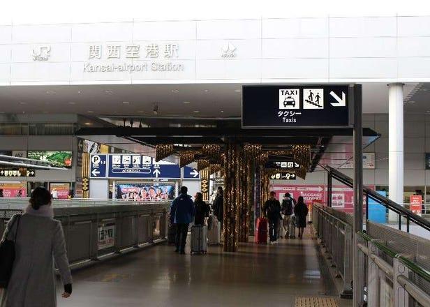 【関空から大阪までの交通ガイド】電車、バス、タクシーどれで行くのが便利?