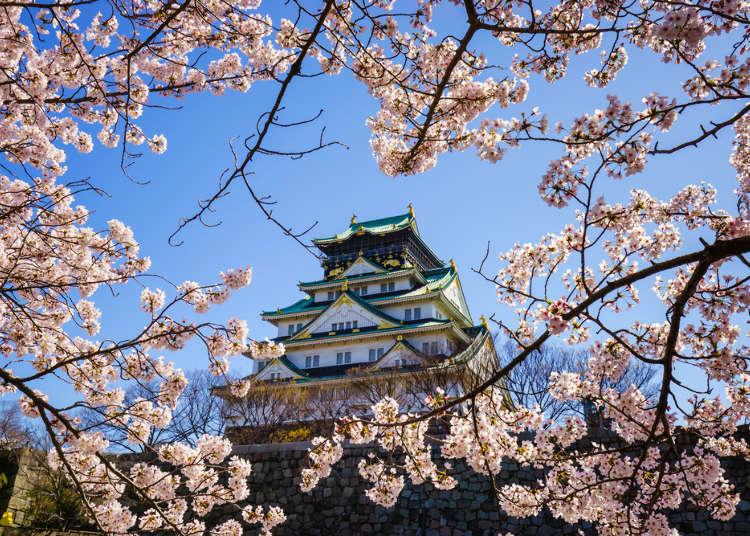 大阪の春(3月・4月・5月)の天気と服装まとめ【旅行前に知っておきたい】