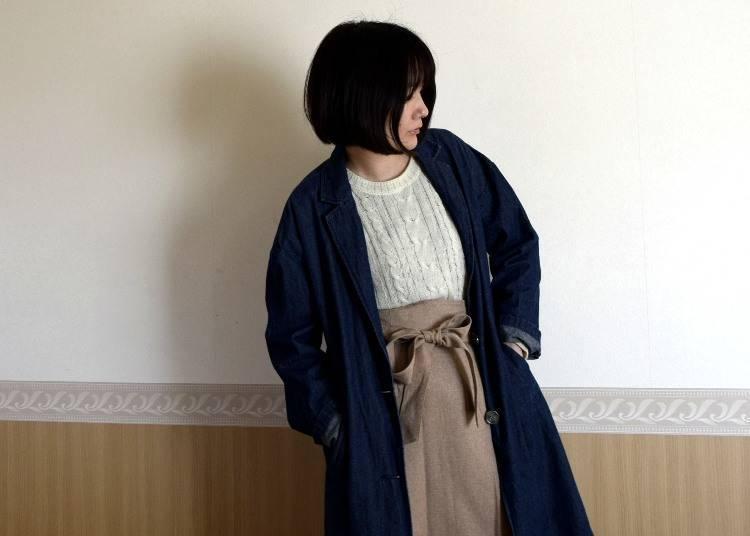 ■오사카의 4월에 알맞은 옷차림은?