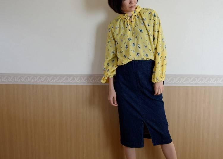 大阪6月的建議穿搭:長袖、雨鞋以備不時之需