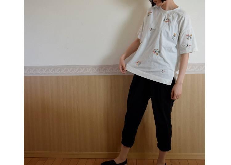 大阪7月的建議穿搭:涼爽款式