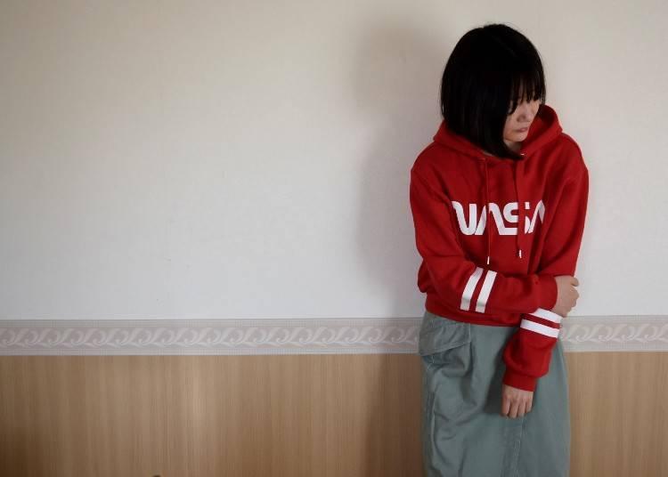■오사카의 10월에 알맞은 옷차림은?