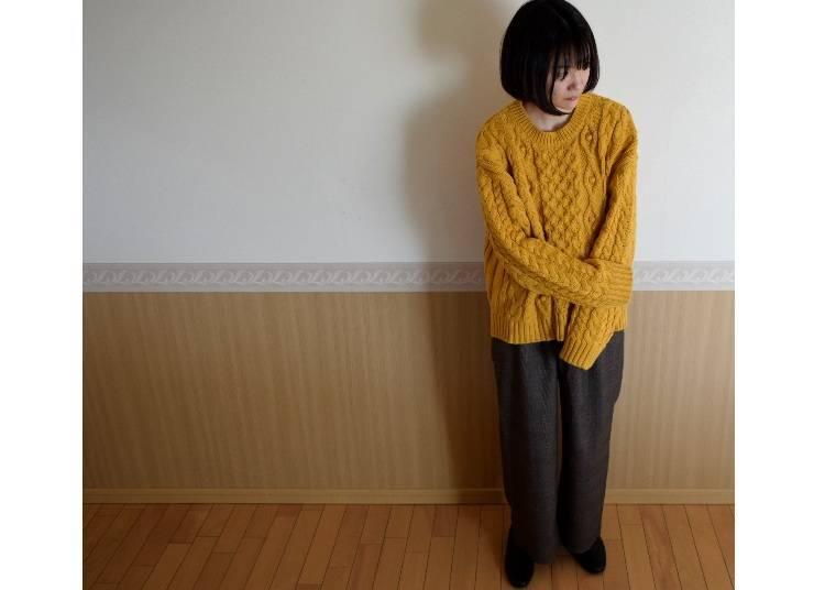 大阪11月的建議穿搭:毛衣可以出場了