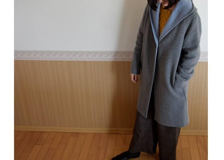 ■오사카의 12월에 알맞은 옷차림은?