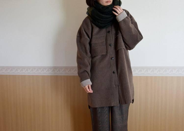 ■오사카의 1월에 알맞은 옷차림은?
