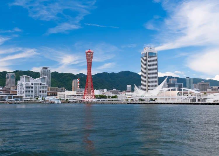 神戶的阪急、JR、阪神電車路線靠山側行走?
