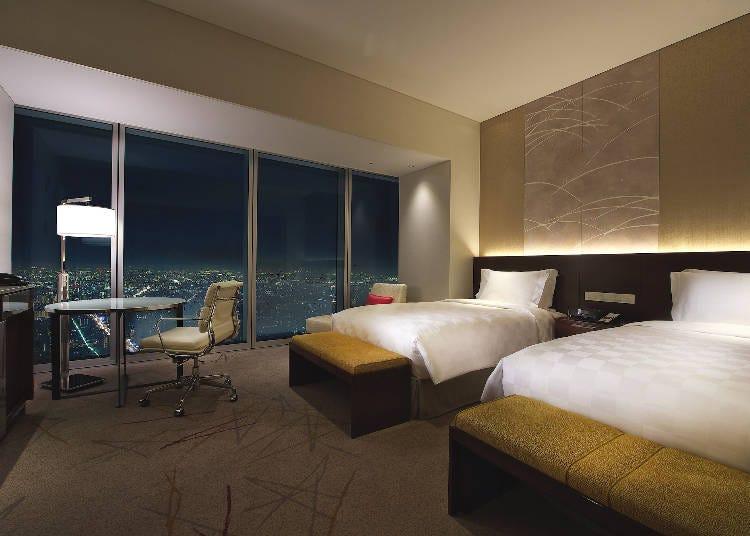 「大阪マリオット都ホテル」で贅沢ステイ